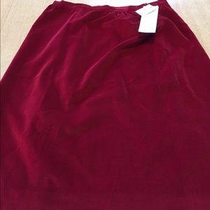 Seriously vintage Talbott skirt NWT size 18